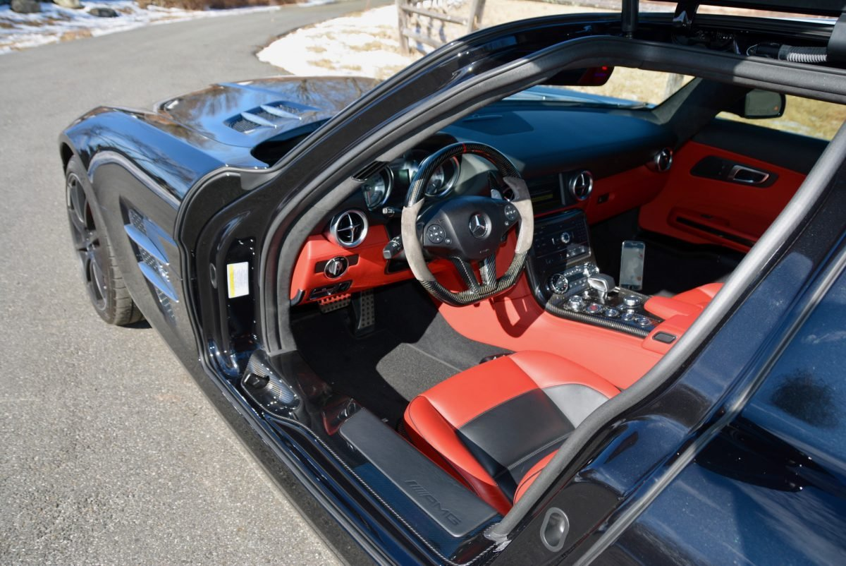 2012 Mercedes Benz SLS AMG Coupe = Black 23k miles $169.9k For Sale (picture 5 of 6)