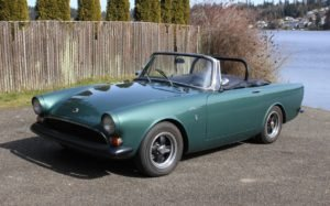 1967 Sunbeam Alpine = Go Clean Green(~)Black LHD $24.9k  For Sale (picture 1 of 6)