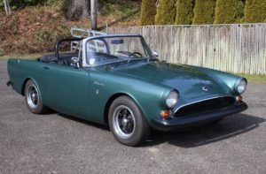 1967 Sunbeam Alpine = Go Clean Green(~)Black LHD $24.9k  For Sale (picture 2 of 6)