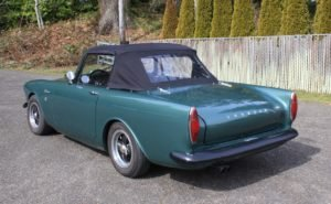 1967 Sunbeam Alpine = Go Clean Green(~)Black LHD $24.9k  For Sale (picture 3 of 6)