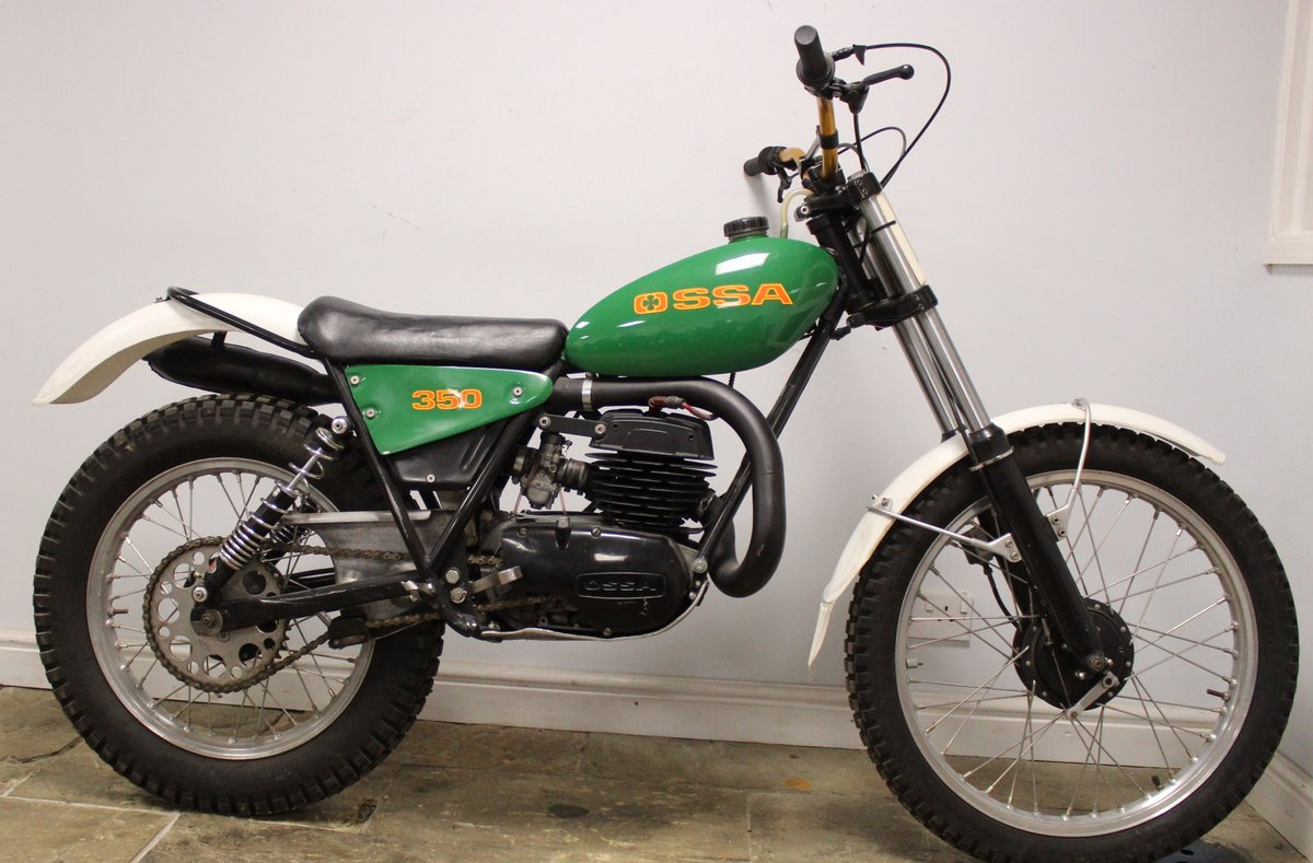 c1979 OSSA TR77 350 cc Two Stroke Trials Bike (Twin Shock) SOLD (picture 1 of 6)