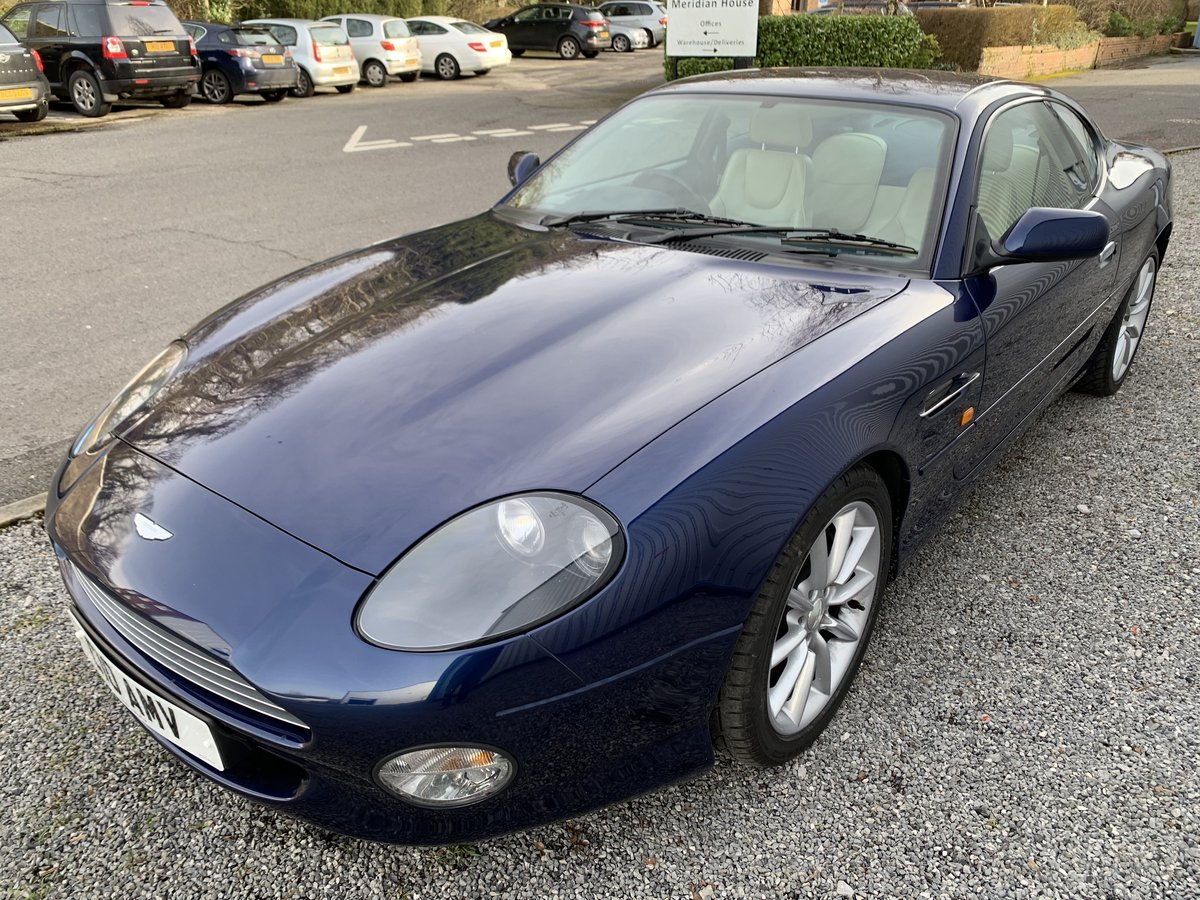 2001 ASTON MARTIN DB7 VANTAGE For Sale (picture 5 of 6)