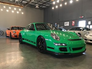 2007 Porsche GT3 RS = Go Green + Manual 5.2k miles $obo For Sale