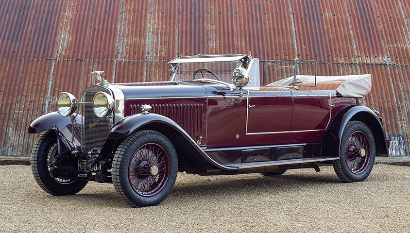 1926 HISPANO-SUIZA H6B DOUBLE-PHAËTON BY MILLION-GUIET For Sale (picture 1 of 6)