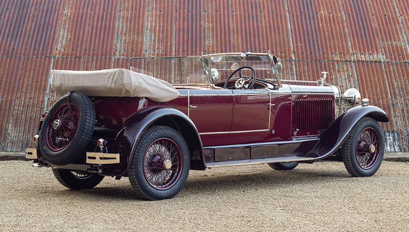 1926 HISPANO-SUIZA H6B DOUBLE-PHAËTON BY MILLION-GUIET For Sale (picture 2 of 6)