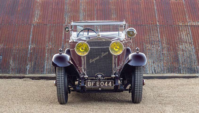 1926 HISPANO-SUIZA H6B DOUBLE-PHAËTON BY MILLION-GUIET For Sale (picture 3 of 6)