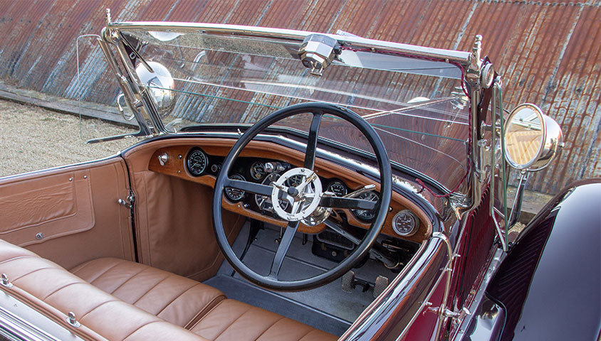 1926 HISPANO-SUIZA H6B DOUBLE-PHAËTON BY MILLION-GUIET For Sale (picture 4 of 6)
