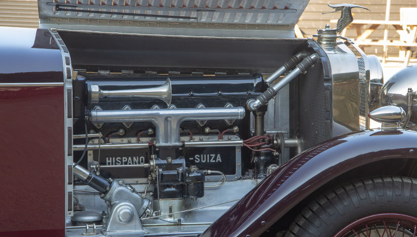 1926 HISPANO-SUIZA H6B DOUBLE-PHAËTON BY MILLION-GUIET For Sale (picture 6 of 6)