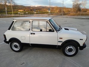 1985 Innocenti A112 mint example- Abarth Replica base