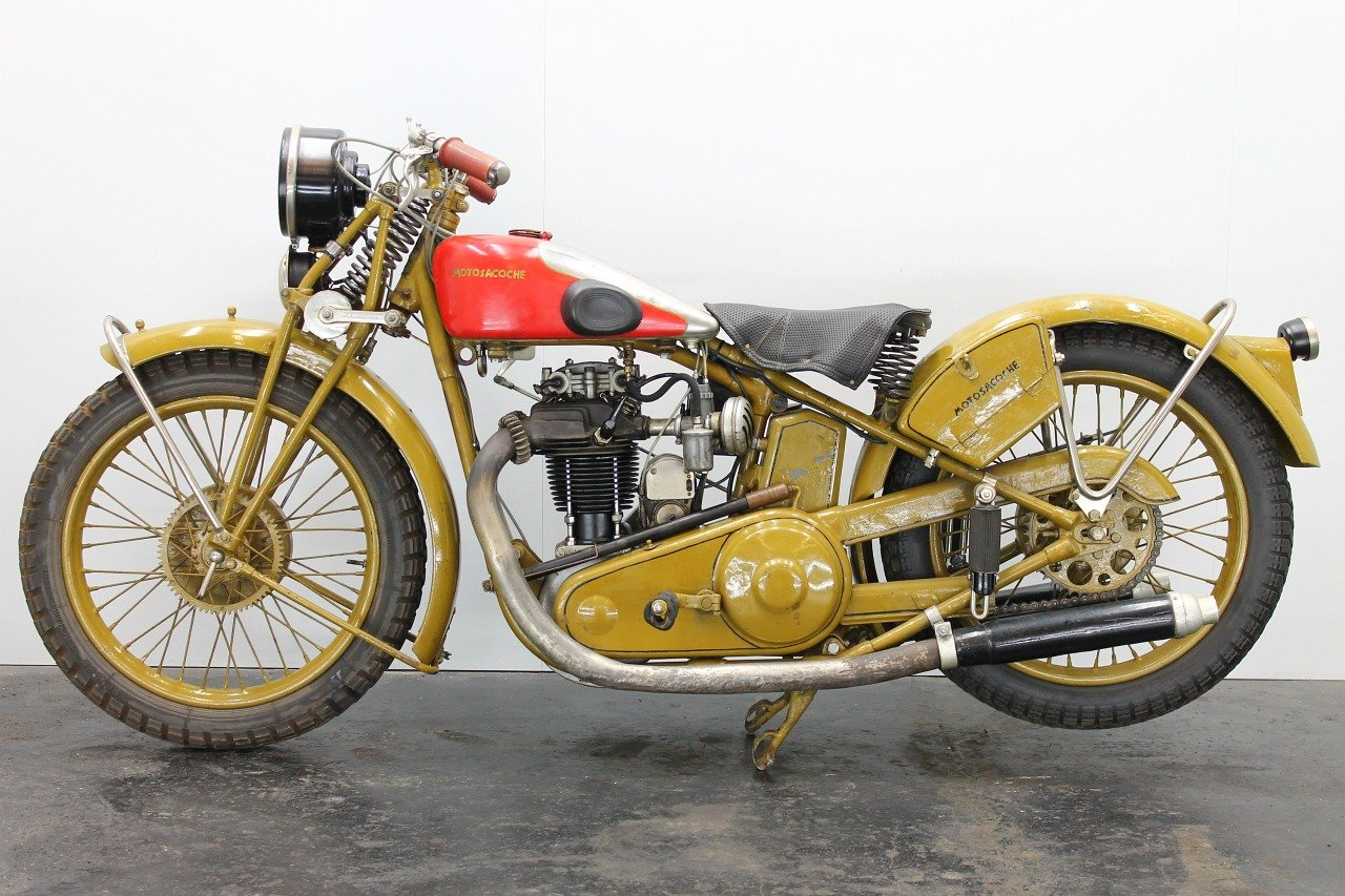 Motosacoche Model 310 1928 350cc 1 cyl ohv For Sale (picture 2 of 6)