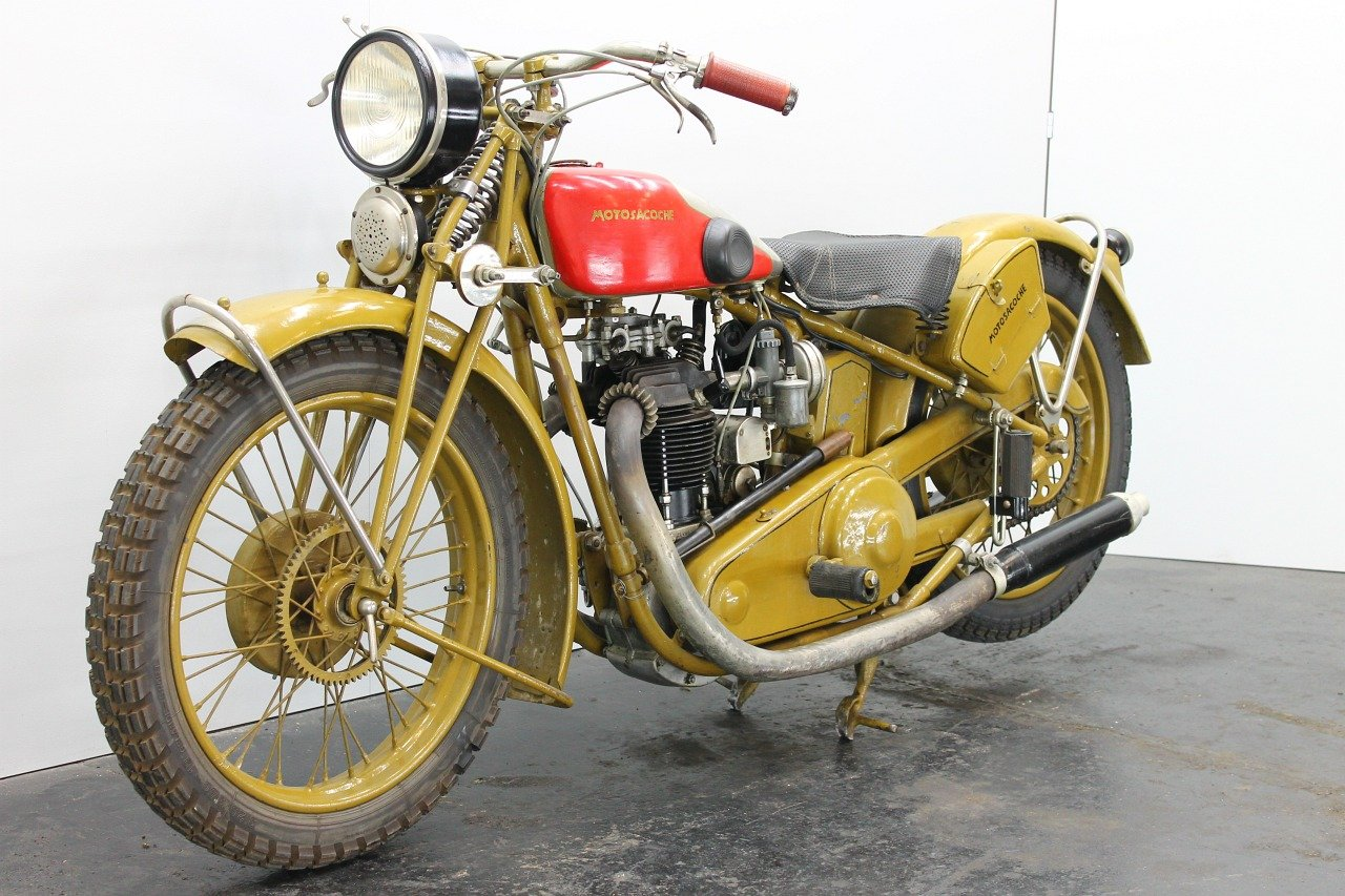Motosacoche Model 310 1928 350cc 1 cyl ohv For Sale (picture 3 of 6)