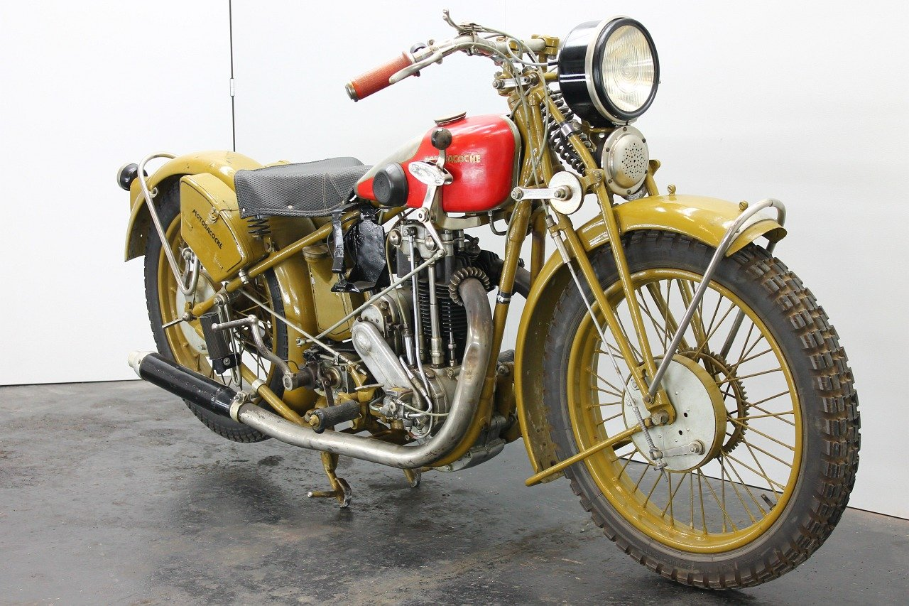 Motosacoche Model 310 1928 350cc 1 cyl ohv For Sale (picture 4 of 6)