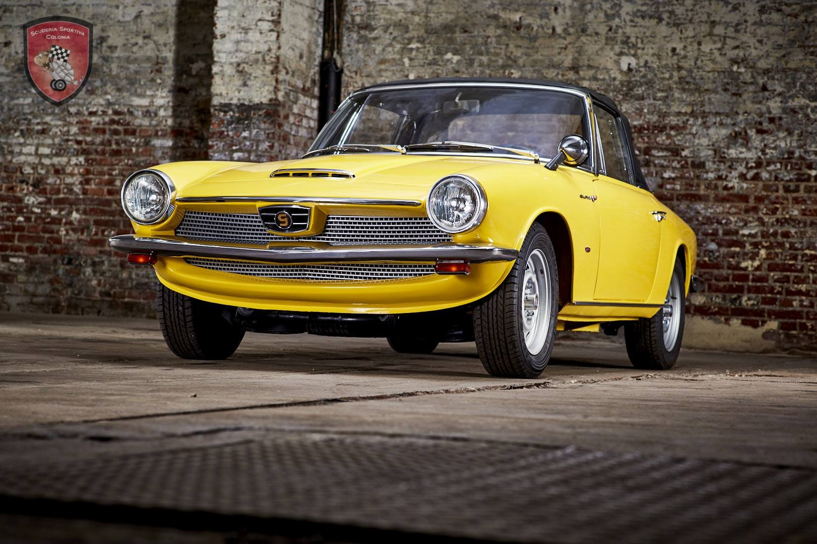 1966 GLAS GT 1700 cabriolet  For Sale (picture 1 of 6)