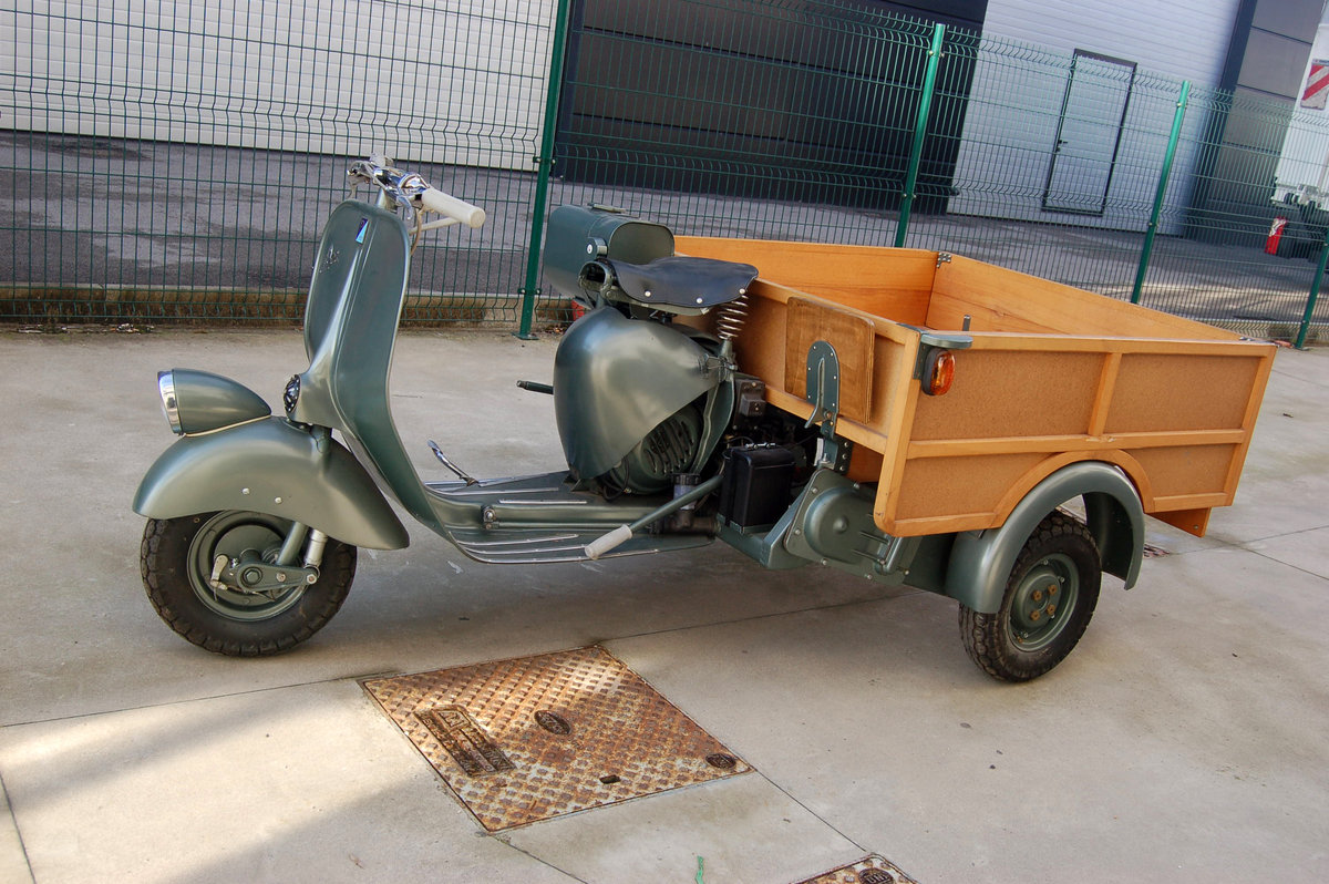 Piaggio Ape AB3 1953 For Sale (picture 2 of 6)