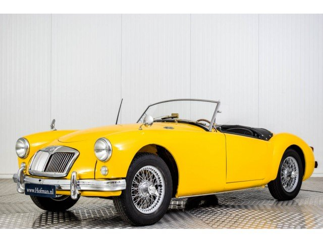1956 MG A MGA 1500 Roadster For Sale (picture 1 of 6)