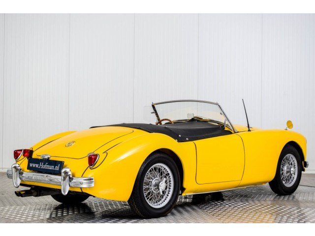 1956 MG A MGA 1500 Roadster For Sale (picture 2 of 6)