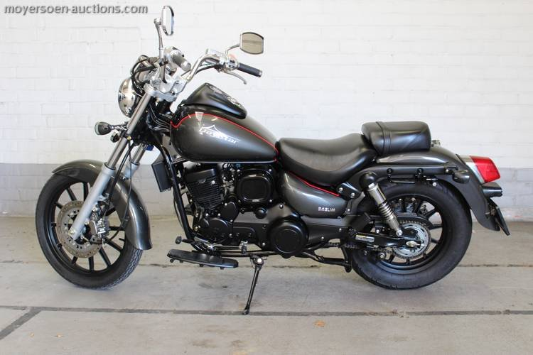 2014 DAELIM Daystar 125cc For Sale by Auction (picture 3 of 3)