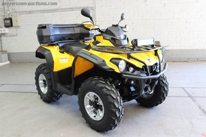2016 CAN-AM Outlander For Sale by Auction