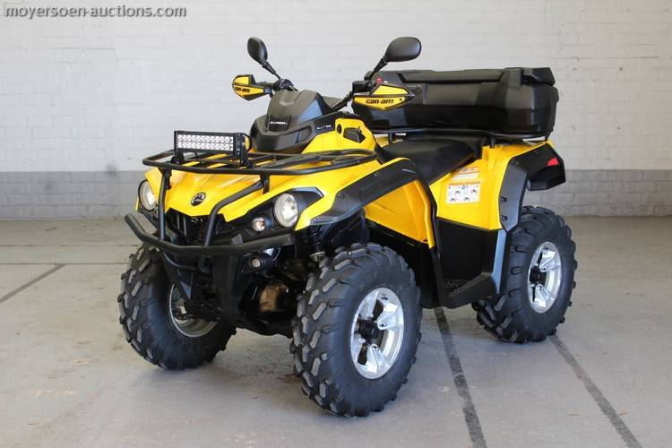 2016 CAN-AM Outlander For Sale by Auction (picture 2 of 3)