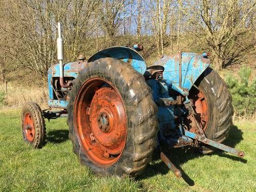 1954 Fordson Major Diesel *NO RESERVE* Tractor at Morris Leslie SOLD by Auction (picture 2 of 6)