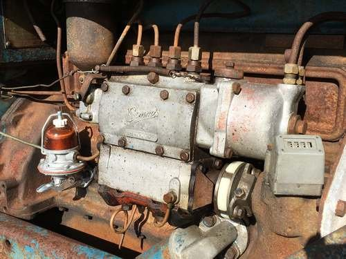 1954 Fordson Major Diesel *NO RESERVE* Tractor at Morris Leslie SOLD by Auction (picture 5 of 6)