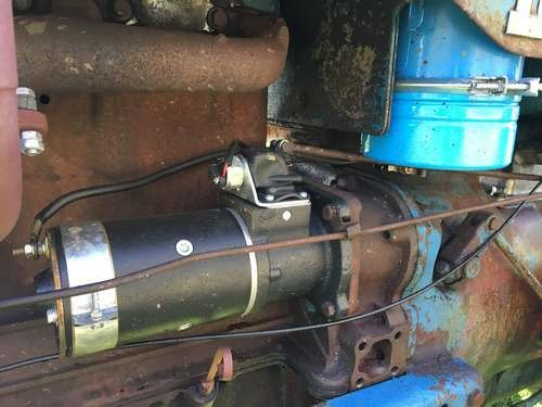 1954 Fordson Major Diesel *NO RESERVE* Tractor at Morris Leslie SOLD by Auction (picture 6 of 6)