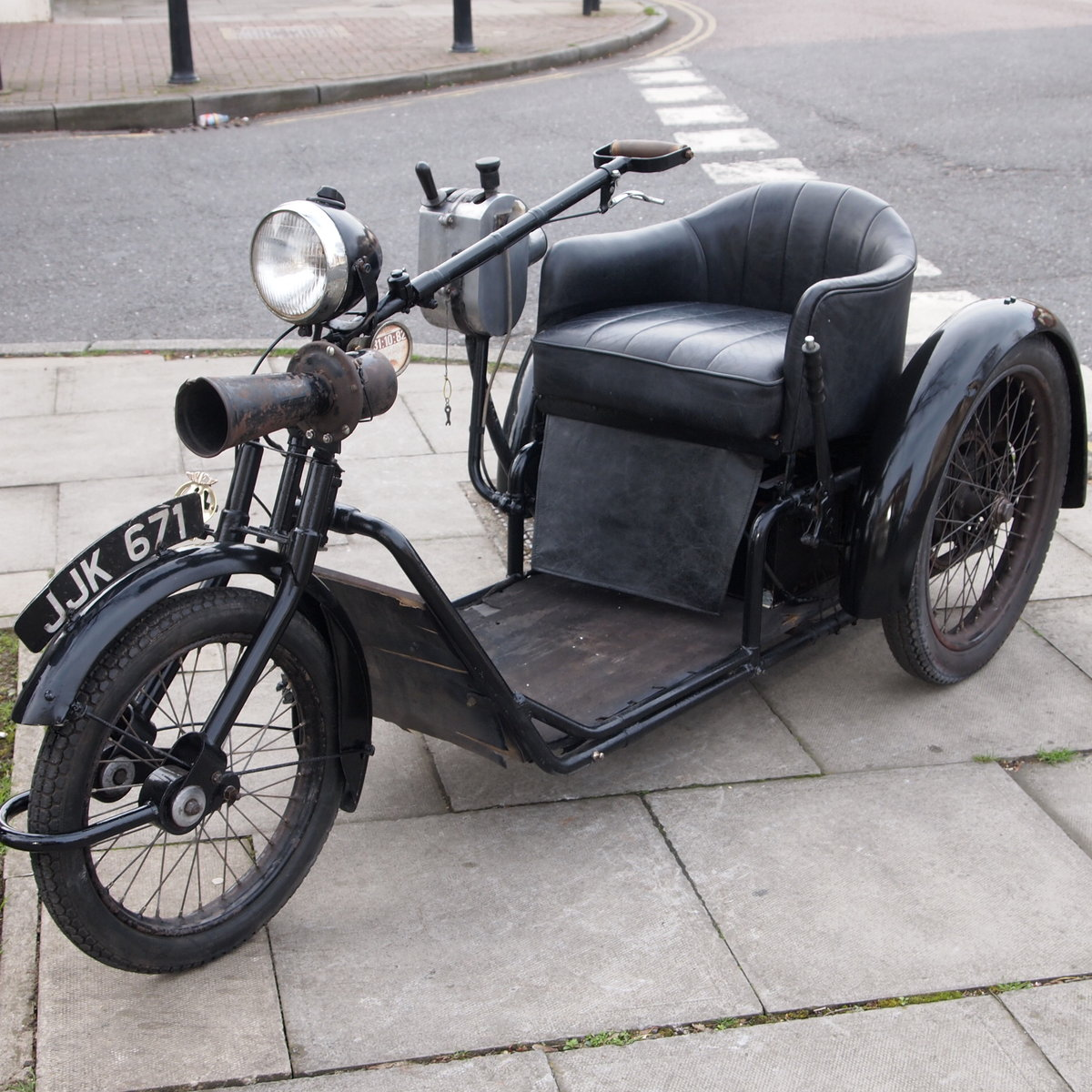 1948 Rare Harding 24 Volt Electric Invalid Classic Carriage. SOLD (picture 5 of 6)