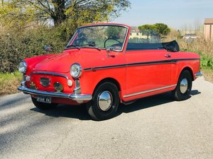 "1960 AUTOBIANCHI BIANCHINA CABRIOLET 1 SERIE ""ASI ORO"" For Sale"