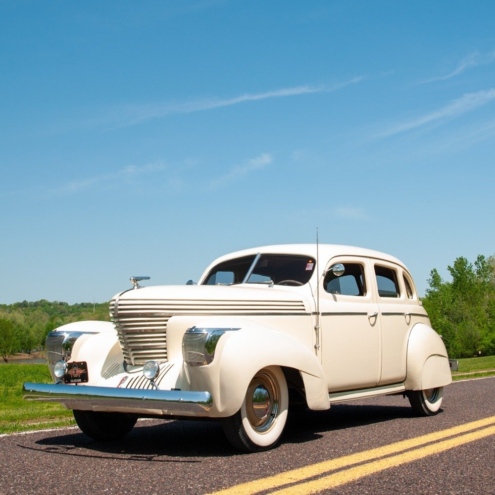 1939 Graham Series 97 Supercharged Sharknose Sedan $29.9k For Sale (picture 1 of 5)