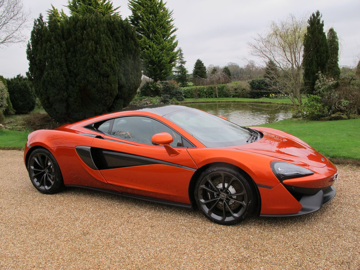 2017 (17) McLaren 540C Coupe V8 SSG For Sale (picture 1 of 6)