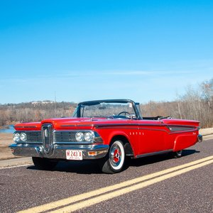 1959 Edsel Corsair Convertible = Rare 1 of 1,343 BigFins $47 For Sale