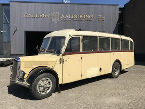 1952 Saurer L4C Alpenwagen Krapf body For Sale