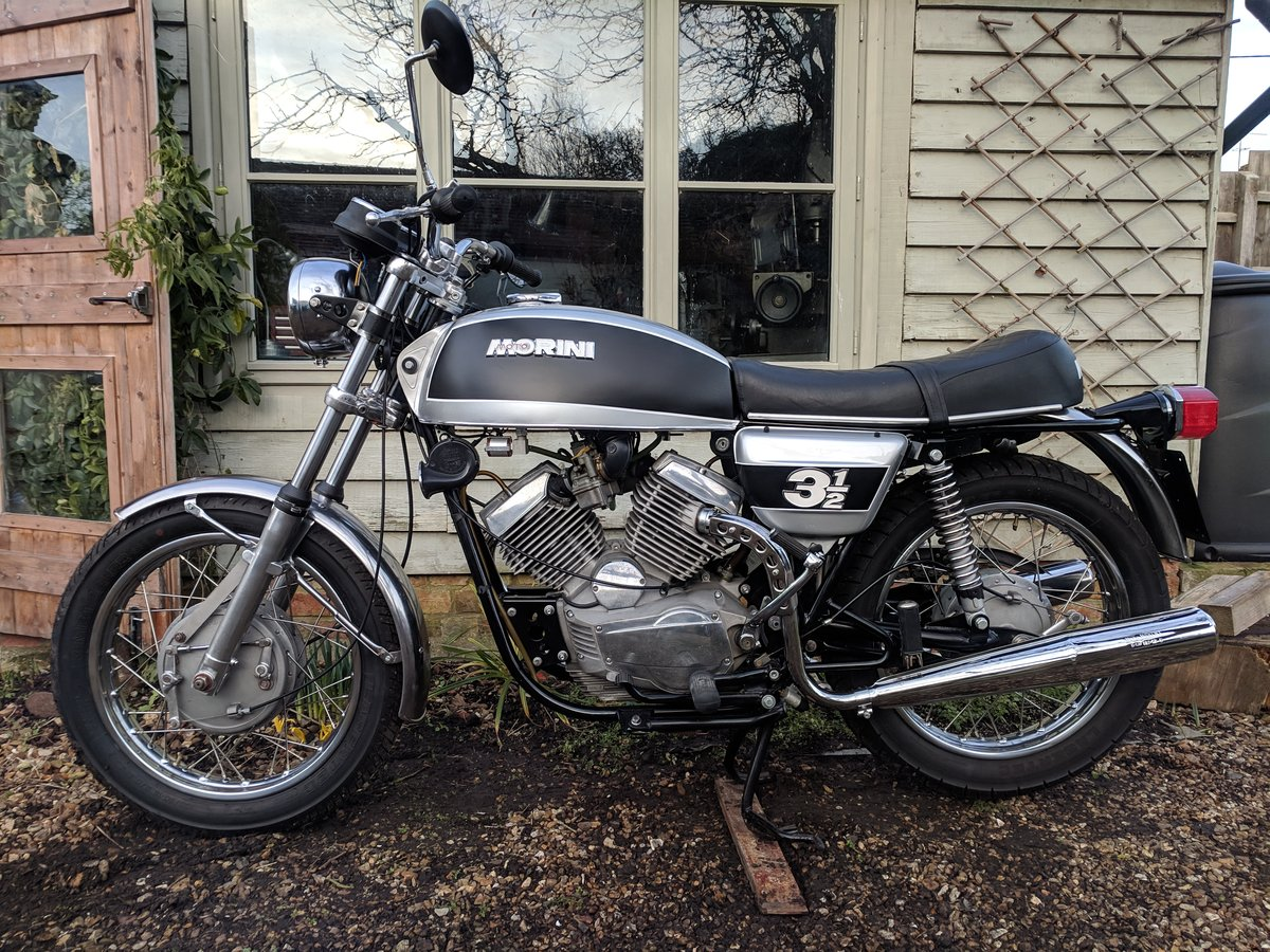 Moto Morini 3 1/2 (350) 1974 - exceptional For Sale (picture 1 of 6)