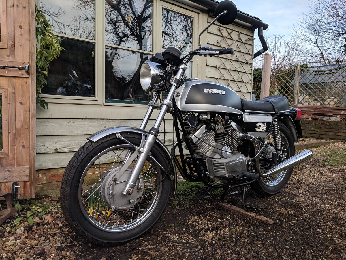 Moto Morini 3 1/2 (350) 1974 - exceptional For Sale (picture 6 of 6)