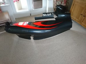 Oringinal race used Alonso/Button McLaren side pod For Sale