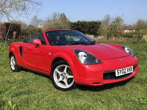 2002 Toyota MR2 1.8 VVTi Roadster with 12 Months MOT For Sale