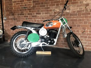 HUSQVARNA 400 CR 1972  ROAD REGISTERED  For Sale