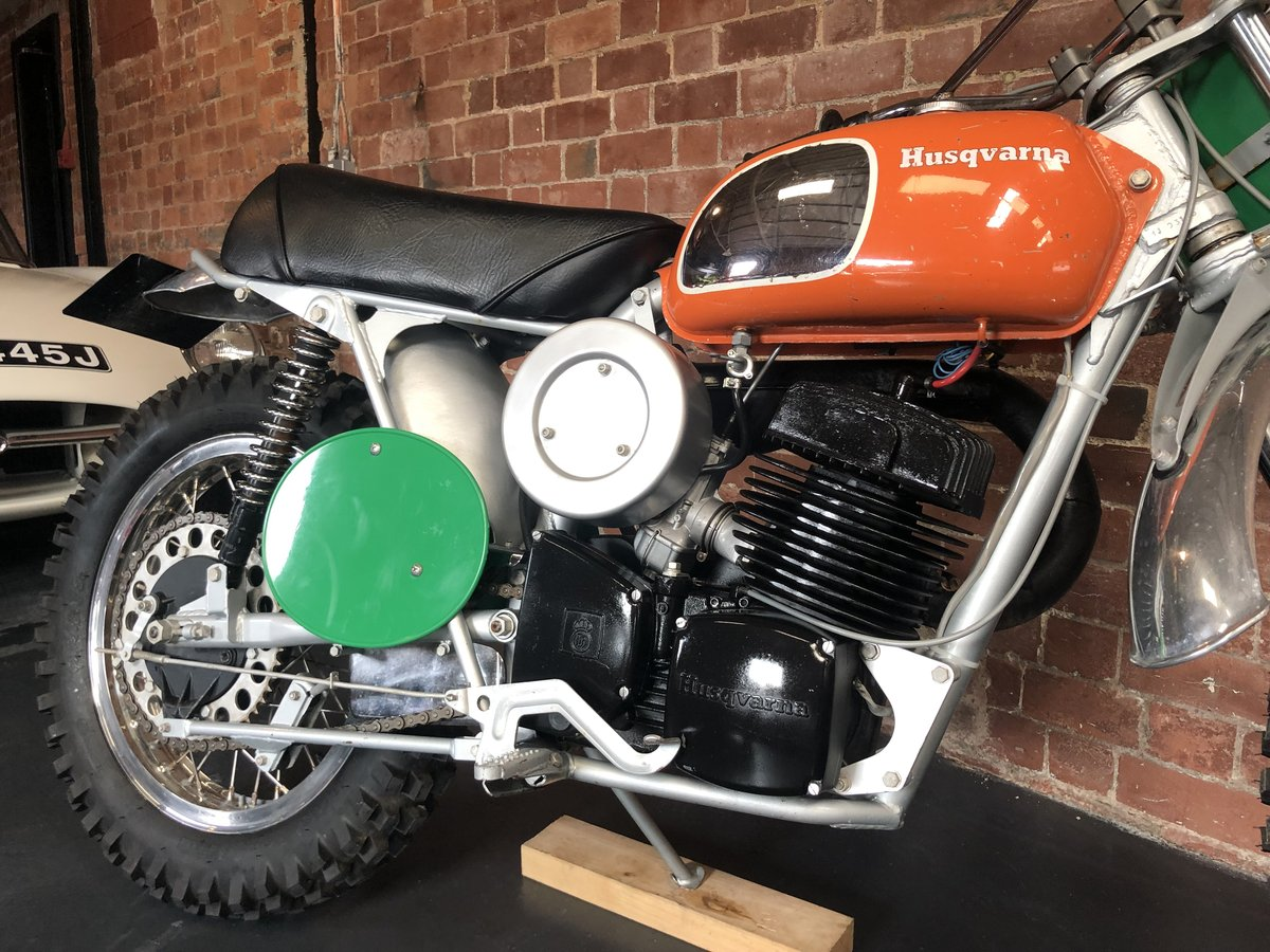 HUSQVARNA 400 CR 1972  ROAD REGISTERED  For Sale (picture 2 of 6)