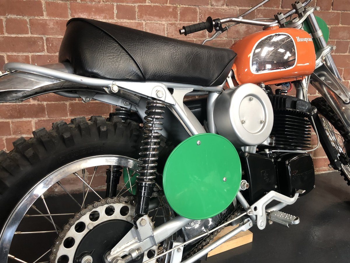 HUSQVARNA 400 CR 1972  ROAD REGISTERED  For Sale (picture 5 of 6)