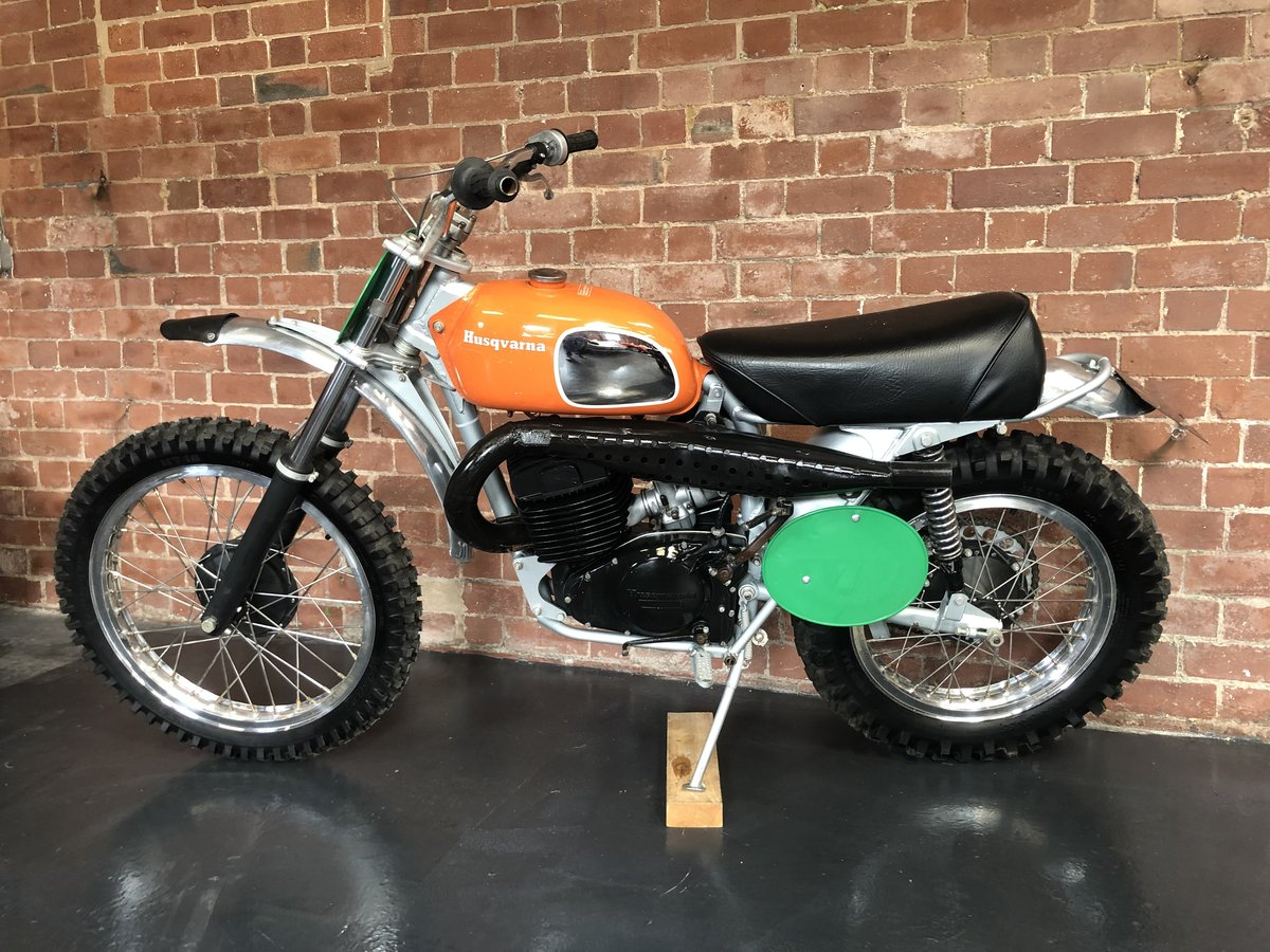 HUSQVARNA 400 CR 1972  ROAD REGISTERED  For Sale (picture 6 of 6)