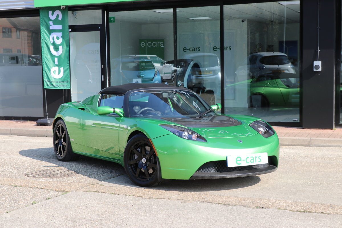 2010 Rare Tesla Roadster Sport Model, 1 of 250 Signature Edition For Sale (picture 1 of 6)