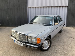Lovely 1983 Mercedes 200 w123 Full Mercedes service history SOLD