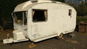 Circa 1960 vintage caravan For Sale