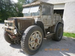 1937 Breda militry towing truck- the monster
