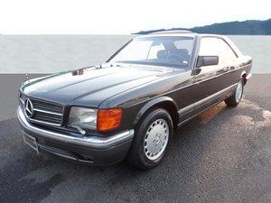 1991 Mercedes-Benz 560 SEC Coupé: 13 Apr 2019 For Sale by Auction