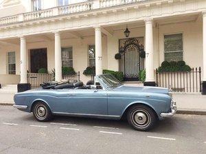 1975 Rolls-Royce Corniche Convertible: 13 Apr 2019