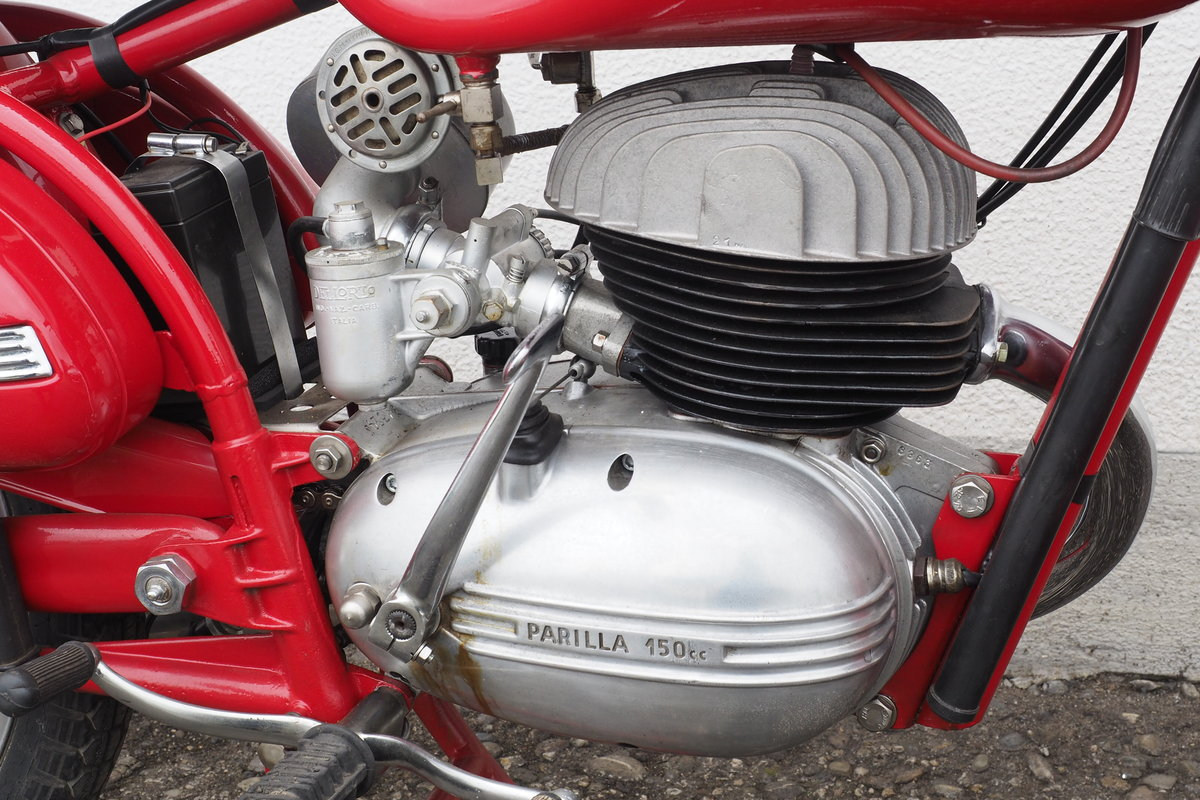 1954 Parilla 150 Sport For Sale (picture 2 of 6)