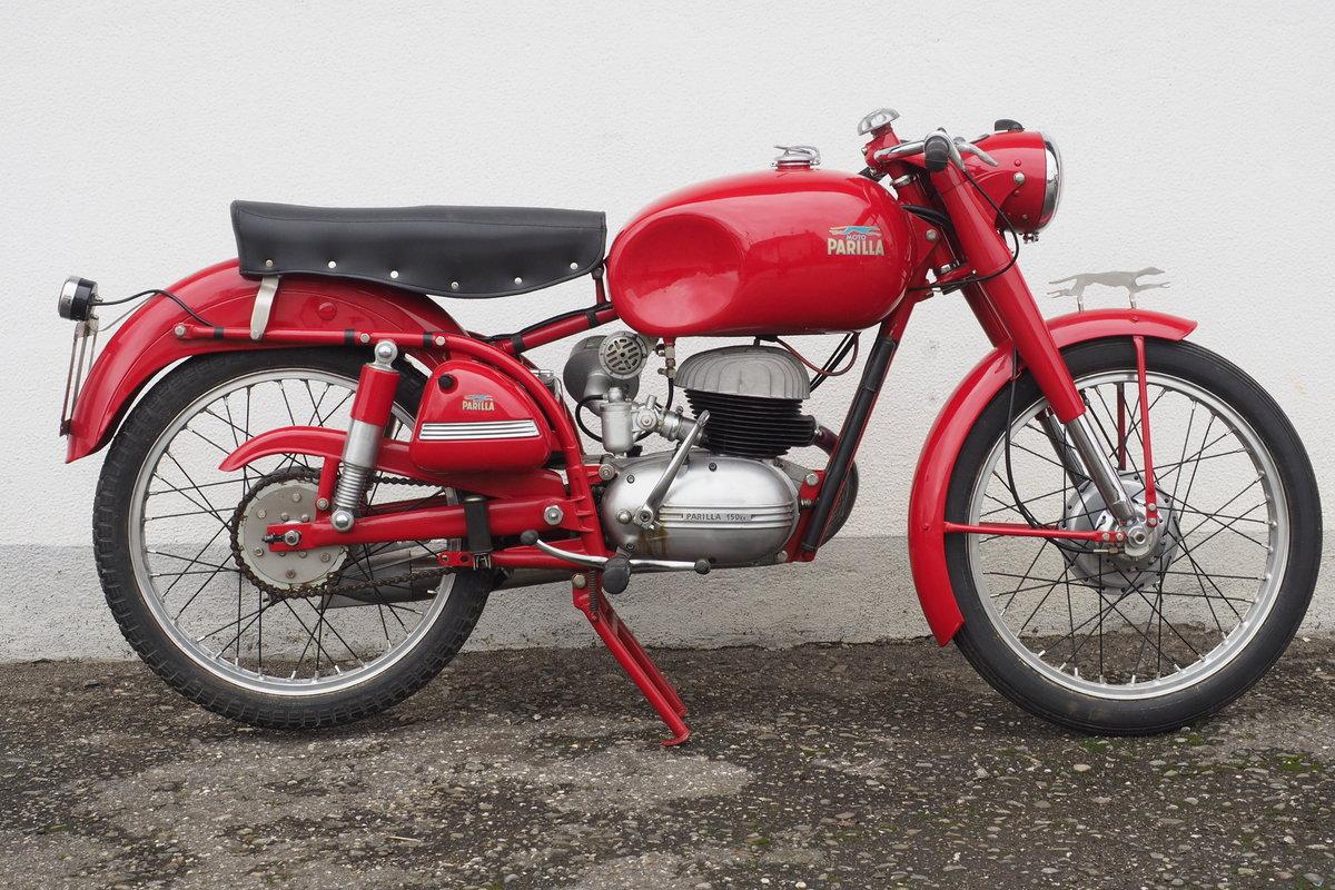 1954 Parilla 150 Sport For Sale (picture 5 of 6)