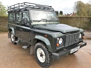 2007 07/57 Defender 110 TDCi CSW 5 seater+94K with superb history SOLD