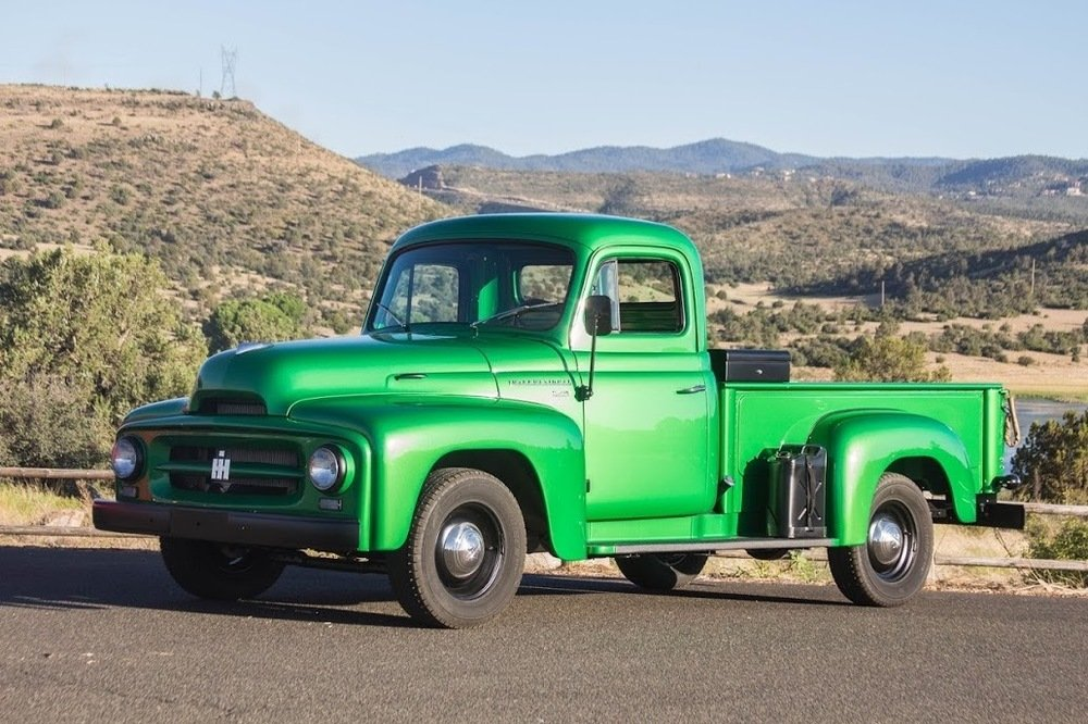 1953 International-Harvester R-112 ½-ton Pickup = Restored  For Sale (picture 1 of 6)